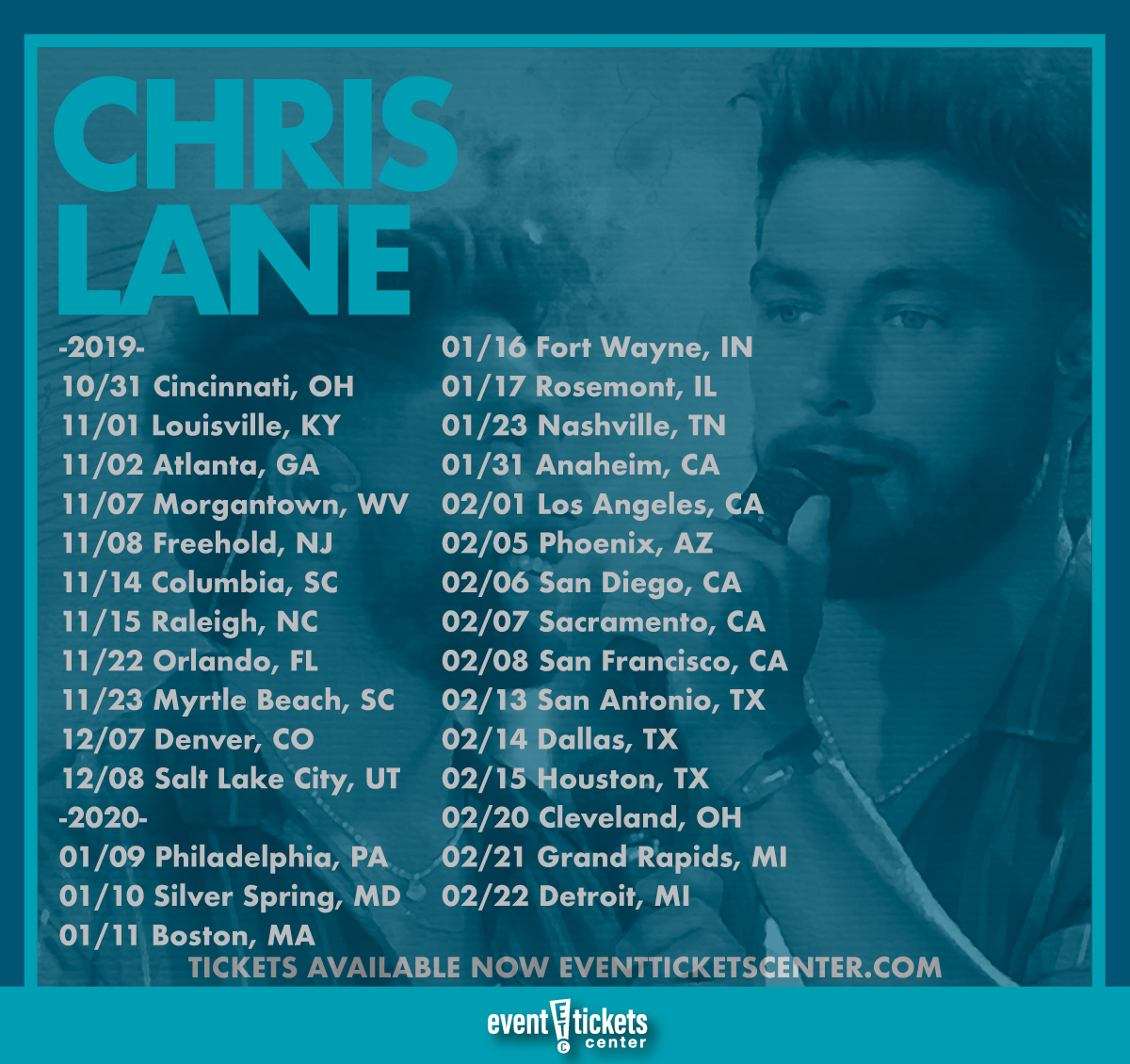 "Chris Lane Plots ""Big, Big Plans Tour"""