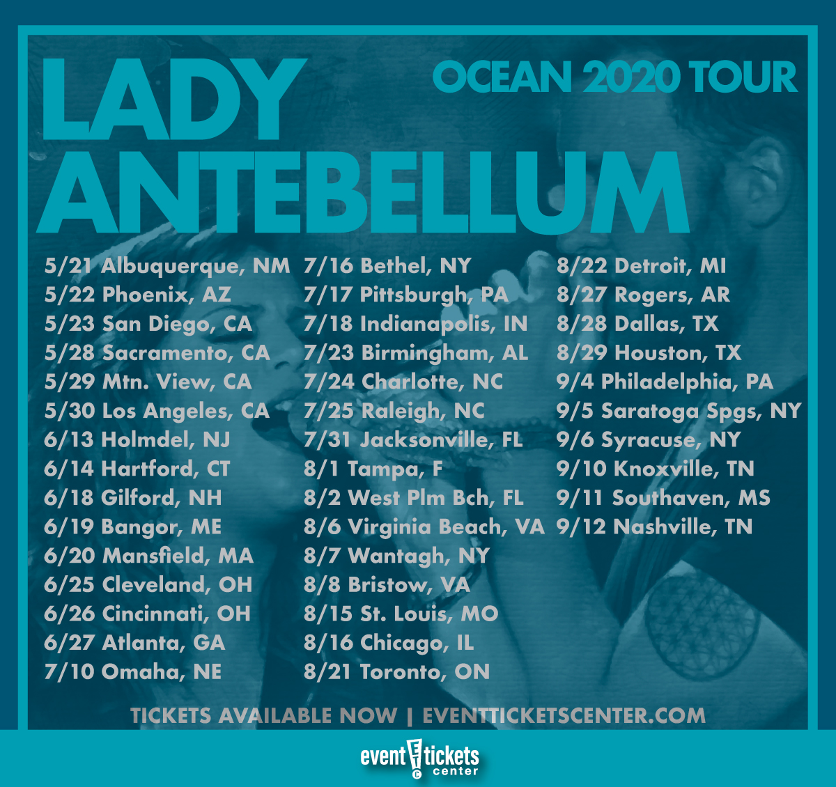 Sugarland Tour Dates And Concert Tickets
